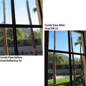 Dual Reflective Night Vision Tint Film