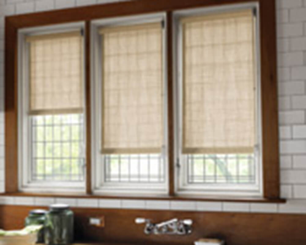 Roller Shades/Screens and Panel Track.