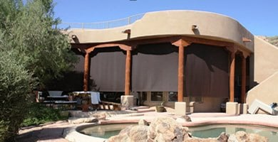Exterior Sunscreens and Roller Screens - Made in The Shade